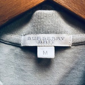 Burberry Tops - Burberry Brit Nova Check Cap Sleeve Polo (M)